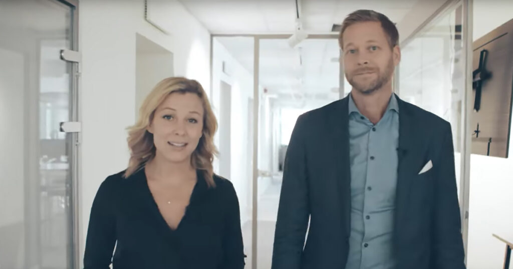 Johan Frodell & Lina Bjelkmar